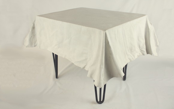 Bespoke Concrete Fabric-Formed Table