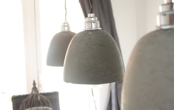 Handcrafted Concrete Light Shades