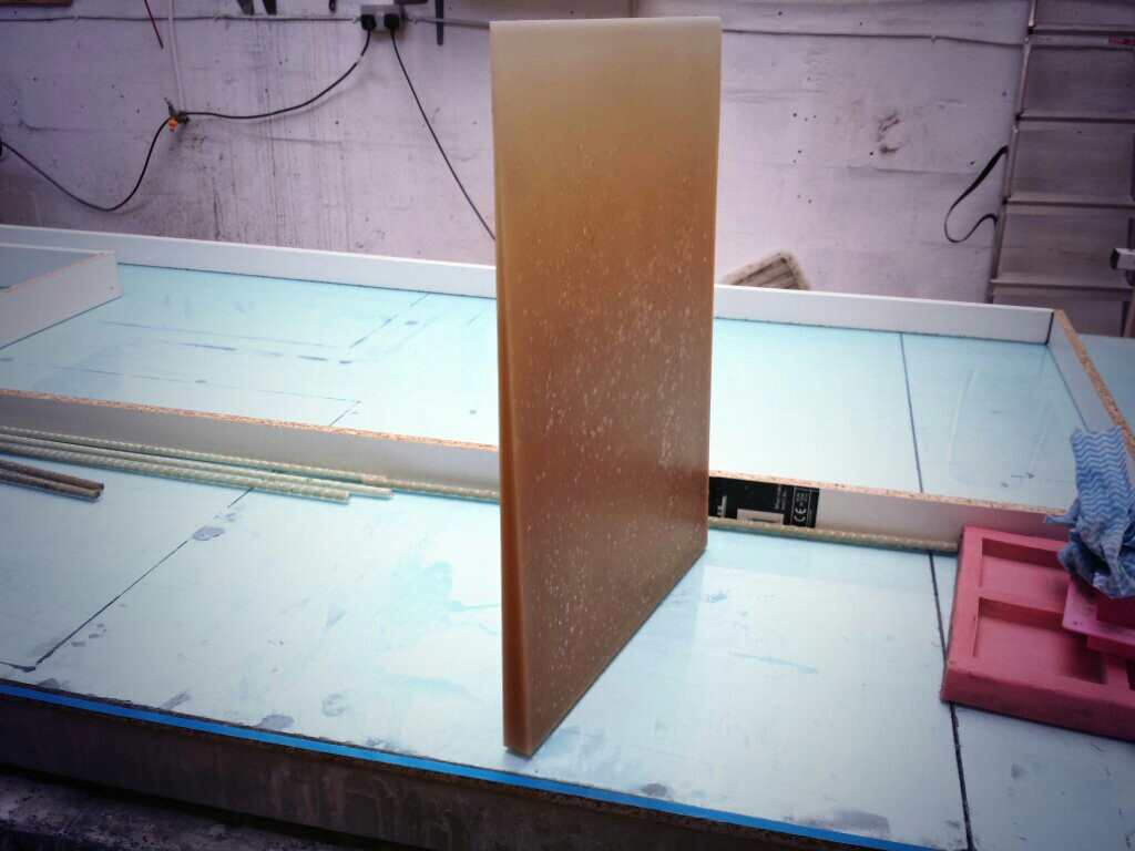 Drain Board For Polished Concrete Worktop Mould Concrete
