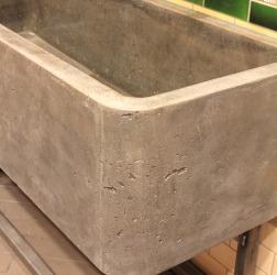 Bespoke Concrete Trough Sink for Nando's in Chesterfield