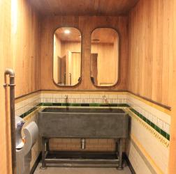 Bespoke Concrete Trough Sink