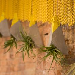 Nando's Altrincham hanging concrete planters