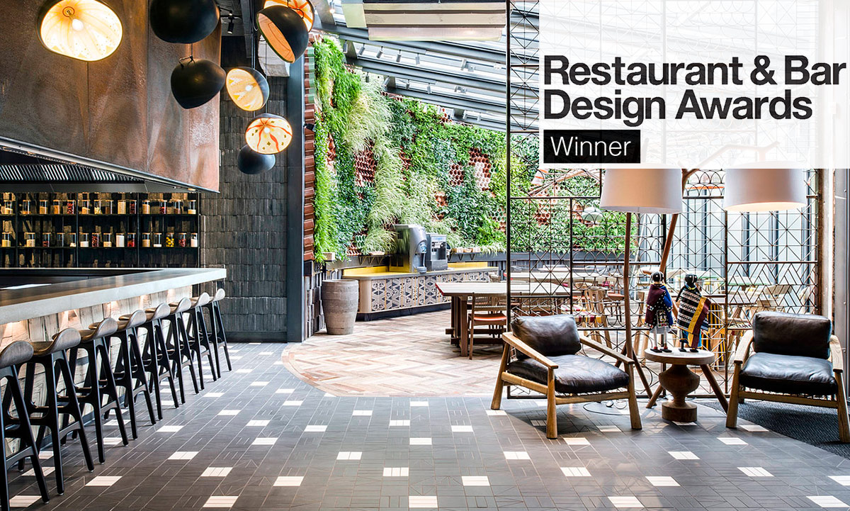 Nando's Putney Kitchen - Restaurant & Bar Design Awards Winner