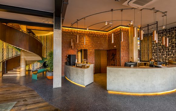 Nando's Head Office Reception Desk